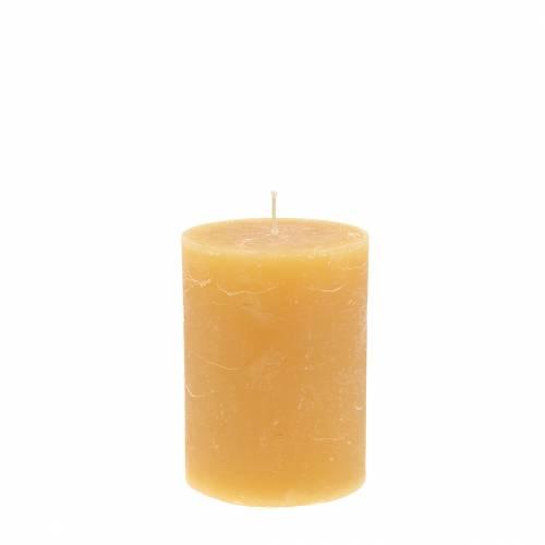 Färgade ljus honung färgade 60 × 80mm 4st