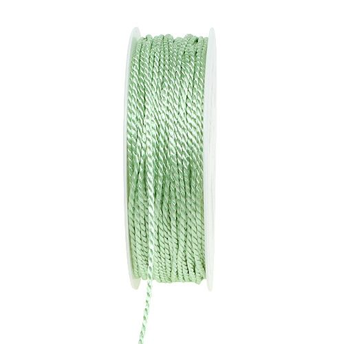 Sladd ljusgrön 2mm 50m