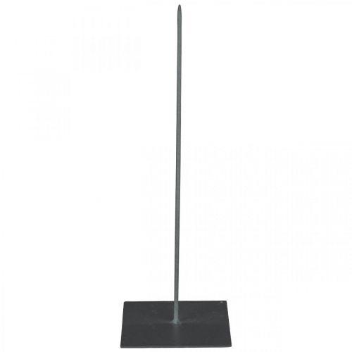Kranshållare kransställ i svartmetall H30cm