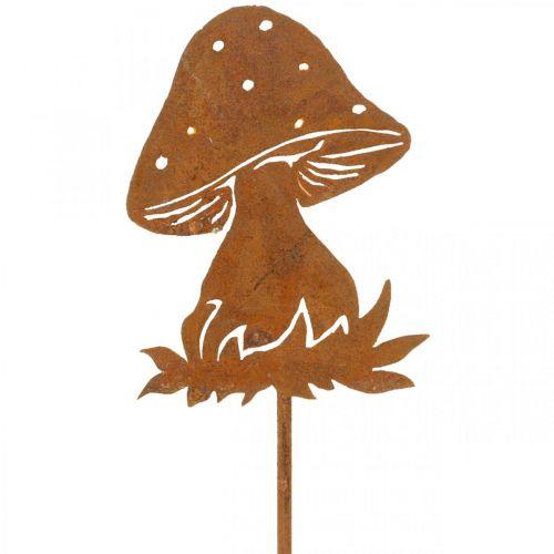 Trädgårdsplugg svamp rost flugsvamp höst dekoration trädgård 47cm