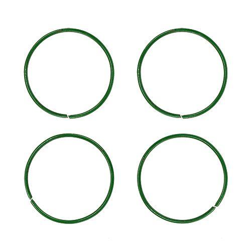 Nejlika ringar 19mm 1kg målad grön