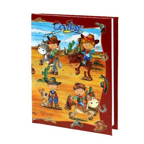 Anteckningsbok för pojkar Cowboy A6 1p