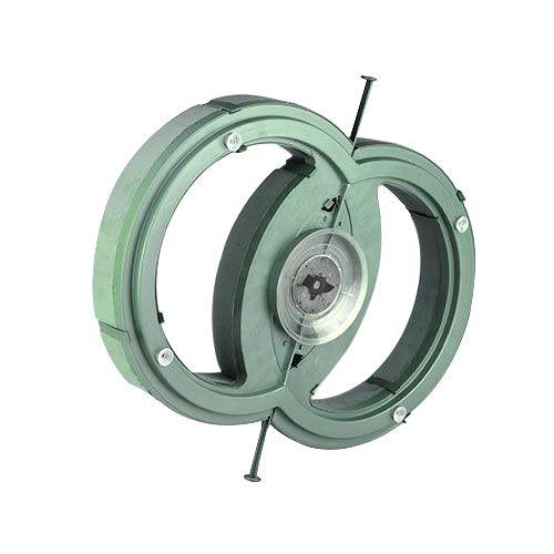 Blommor skum bilarrangemang dubbel ring 55cm x 39cm H6cm 1 st