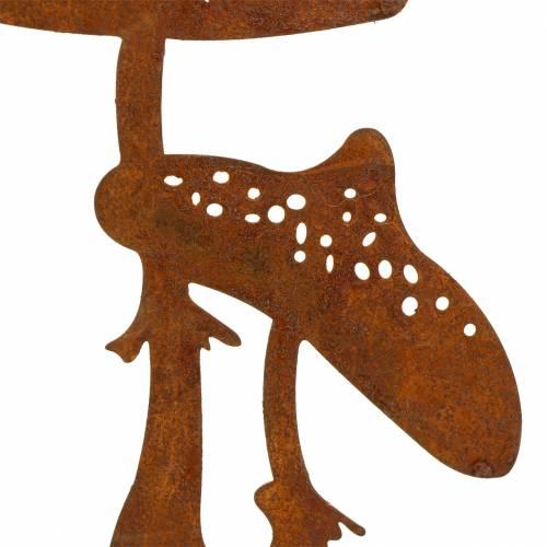Trädgårdsplugg svamppar Edelrost H49.5cm