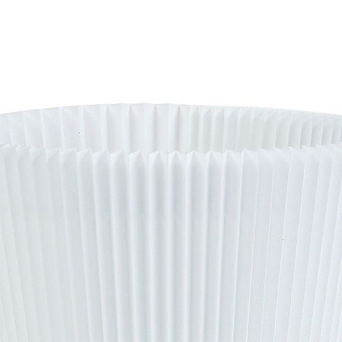 Plisserade manschetter vit 10,5 cm 100st
