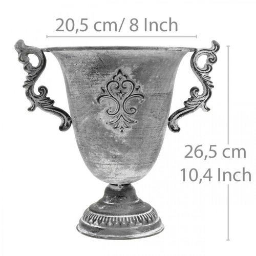 Kopp grå Ø20,5cm H26,5cm
