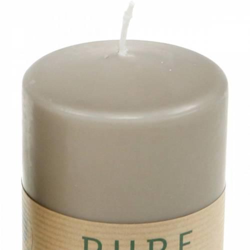 Pure pelar ljus 90/70 ljus hållbart stearin och raps naturligt vax