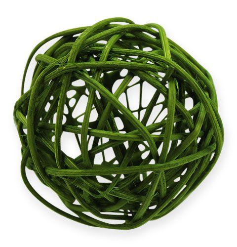 Rottingbollar Ø4,5cm blandad grön 30st
