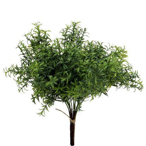 Konstgjord rosmarin gren grön 35cm 3st
