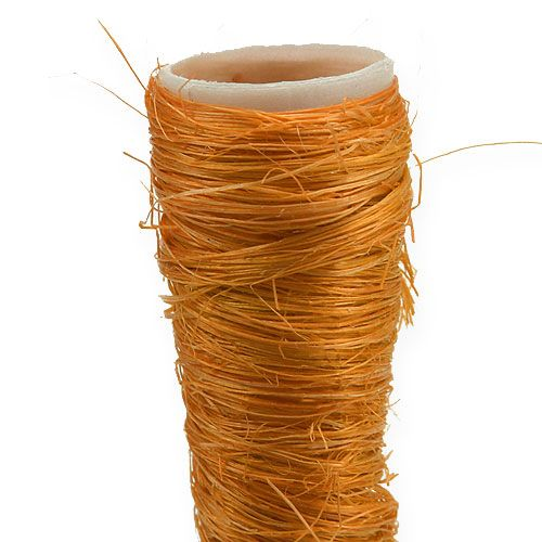 Sisal spetsig vas orange Ø1,5cm L15cm 20st