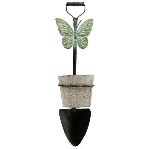 Dekorativ spade för att hänga med växtpotten 57,5 cm