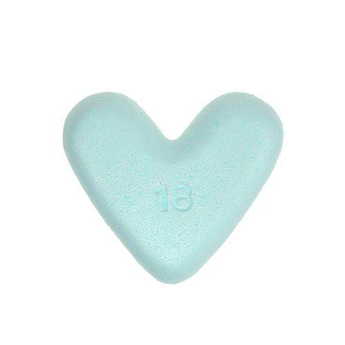 Styrofoam hjärta 18cm 2st
