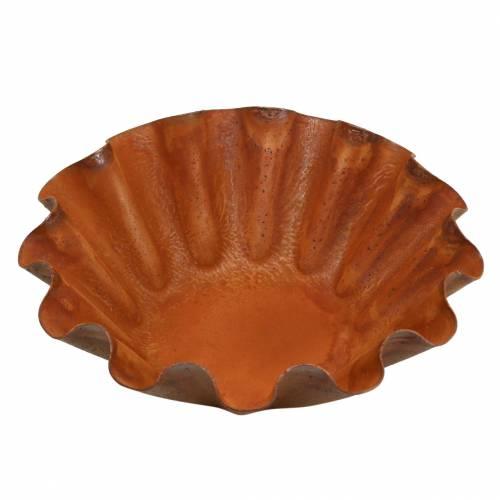 Dekorativ skål, bakform, rostfritt stålgaller Ø12,5cm H4cm