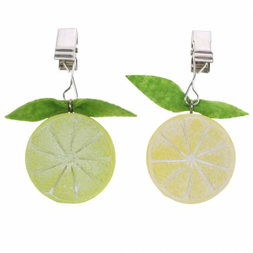 Bordsduk vikt citron lime blandade 8st