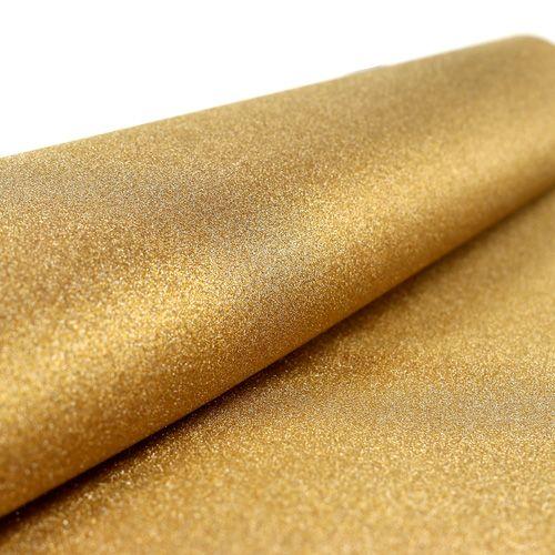 Bordslöpare 50 cm x 300 cm guld