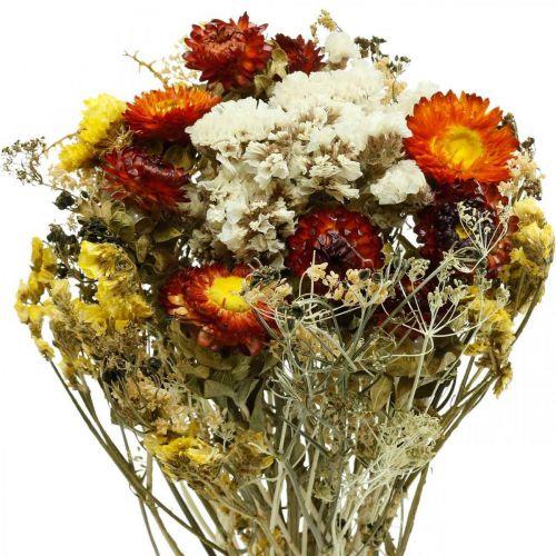 Torkad blommabukett Eviga blommor och havslavendel 125 g torkade blommor