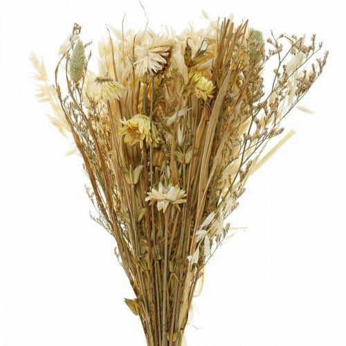 Torkade blommor bukett naturlig 45cm