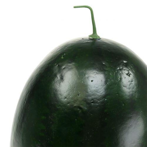Vattenmelon konstgrön 30 cm