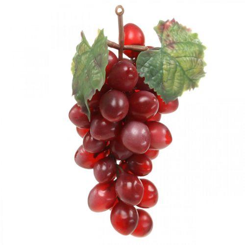 Dekorativa druvor röda Konstgjorda druvor dekorativa frukter 15cm