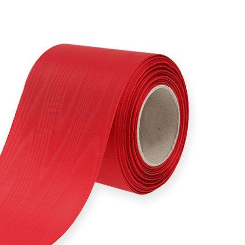 Kransband röd 75mm 25m
