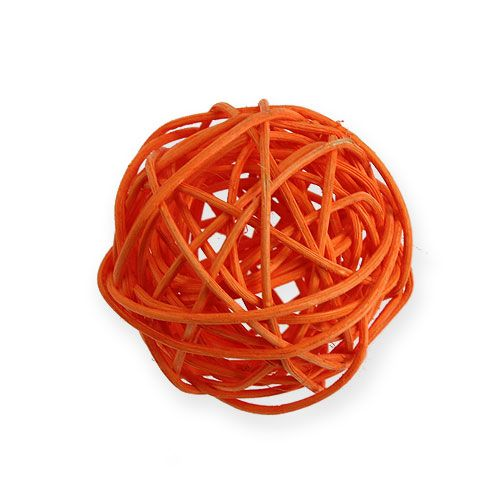 Rottingbollar Ø4,5cm orange blandade 30st
