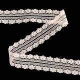 Spetsband Rosa 20m 3cm Band för gåvor