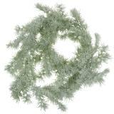 Lark krans med glitter och snö 160 cm